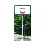 Basketbol Potası Tek Direk Boru Fiber Panyalı