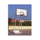 Basketbol Potası 4 Direk Tekerlekli Fiber Panya