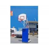 Basketbol Potası 4 Direk Tekerlekli Fiber Amerikan Panya