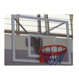 Basketbol Antrenman Potası 15 mm Cam Panya Duvara Monte