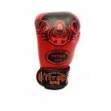 Kick Boks Eldiveni Kırmızı Titan Spor