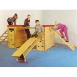 Jimnastik Eğitim Seti 3 lü Ahşap Set