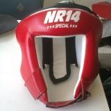 Kick Boks Kaskı Kırmızı  NR14